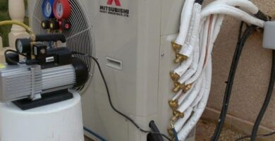 como instalar tubería del aire acondicionado