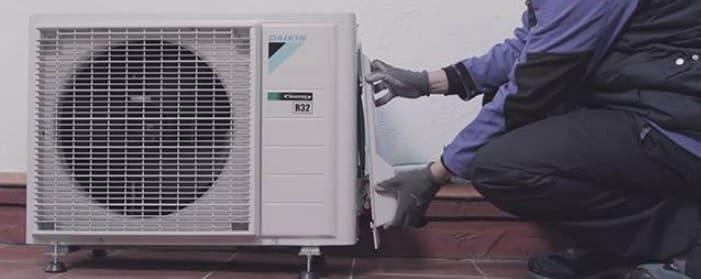 cómo instalar la unidad exterior del aire acondicionado split