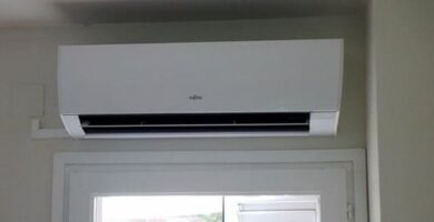 unidad interior del aire acondicionado split